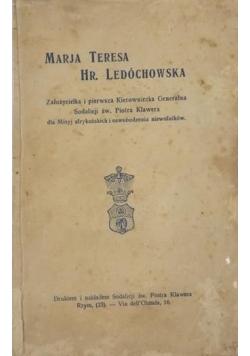 Marja Teresa Hr. Ledóchowska, 1925 r.
