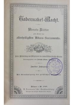 Sahernakel-Warht, 1898 r.