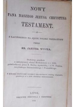 Nowy Testament, 1914 r.