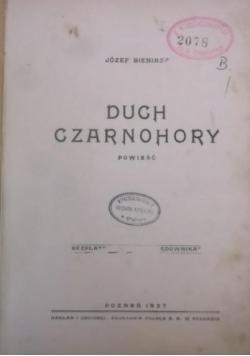 Duch Czarnohory, 1937 r.