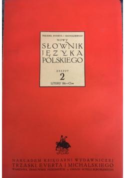 Słownik języka polskiego zeszyt 2