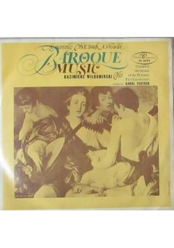 Baroque music, płyta winylowa