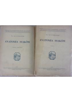 Anatomia ssaków, Tom III - IV, 1939r.