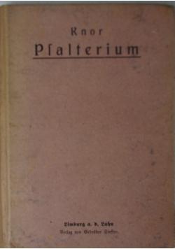 Psalterium, 1916r.