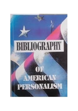 Bibliography of american personalism