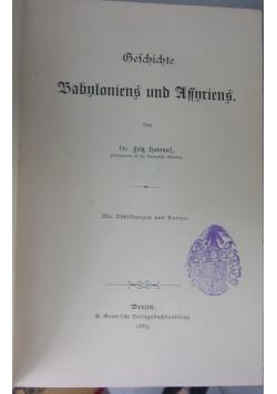 Geichichte, rok 1885