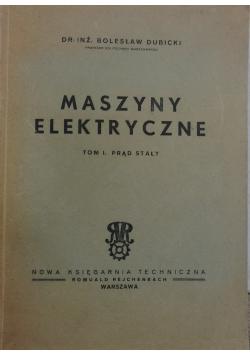 Maszyny elektryczne cz. 1,1949 r.