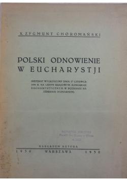 Polski odnowienie w Eucharystji, 1930r.