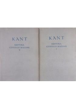Krytyka czystego rozumu, tom 1 i 2