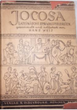 Jocosa Lateinische Sprachspielerein ,1941
