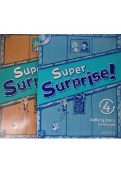 Super Surprise! 4, książka i ćwiczenia