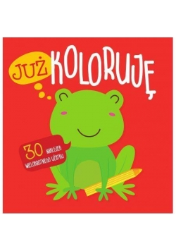 Już koloruję. Żabka. Easy color 3