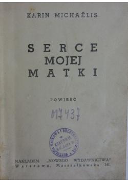 Serce mojej Matki ,1924r.