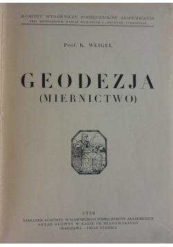 Geodezja miernictwo, 1938r.