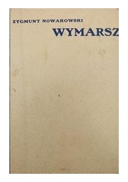 Wymarsz, autograf, 1937 r.