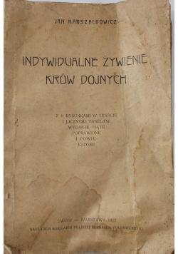 Indywidualne żywienie krów dojnych, 1922 r.