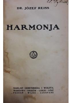 Harmonja , 1923 r.