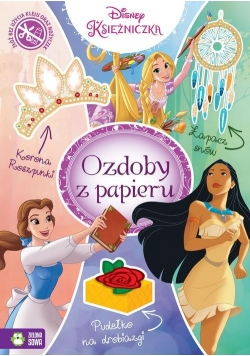Ozdoby z papieru Księżniczki Disney