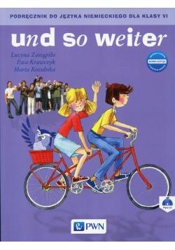 und so weiter Nowa edycja 6 Podręcznik z płytą CD