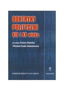 Doktryny polityczne XIX i XX wieku