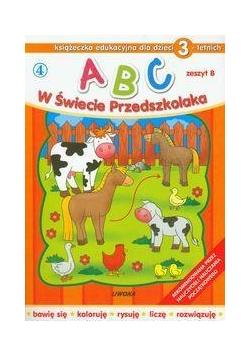 ABC w świecie przedszkolaka B/3 (4) LIWONA
