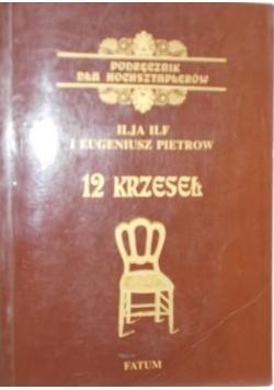 12 krzeseł. Podręcznik dla hochsztaplerów