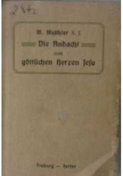 Die Andacht zum Gottlieb Herzen Jesu, 1910 r.