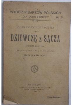 Dziewczę z Sącza, 1909 r.