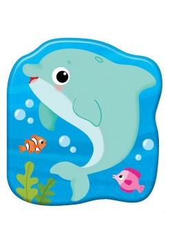 Książeczki kąpielowe Delfin Plum