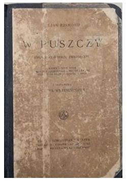 W puszczy, 1927 r.
