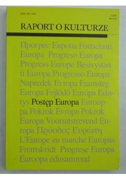 Raport o kulturze: Postęp Europa, 1/2007