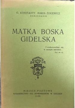 Matka Boska Gidelska, 1929 r.