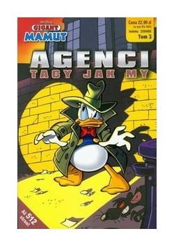 Gigant Mamut Agenci tacy jak my Tom 3