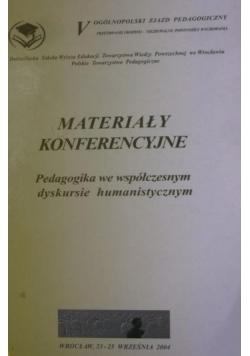 Materiały konferencyjne
