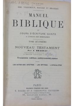 Manuel Biblique,1910 r.