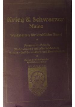 Werkstatten fur kirchliche Kunst,nr3-4,1917,1922
