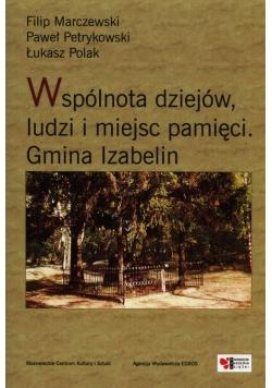 Wspólnota dziejów, ludzi i miejsc pamięci Gmina Izabelin