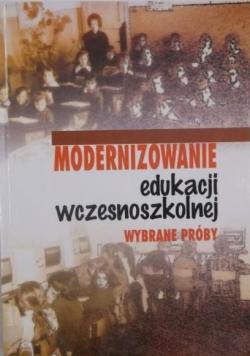 Modernizowanie edukacji wczesnoszkolnej