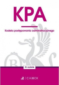Kodeks postępowania administracyjnego w.33