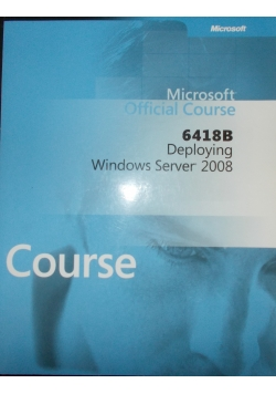 Microsoft Official Course 6418 B