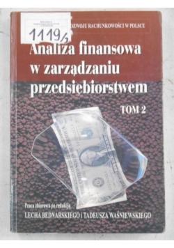 Analiza finansowa w zarządzaniu przedsiębiorstwem, tom II