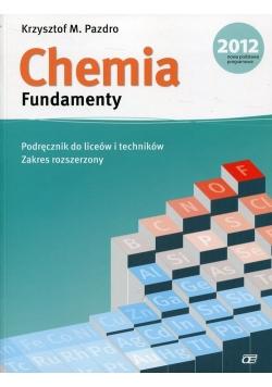 Chemia Fundamenty Podręcznik z płytą DVD Zakres rozszerzony