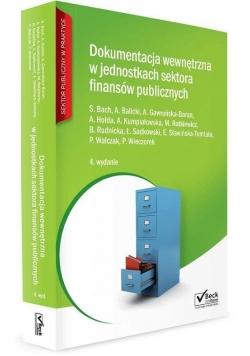 Dokumentacja wewnętrzna w jednostkach sektora..