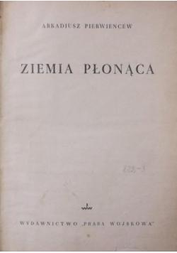 Ziemia płonąca, 1950 r.