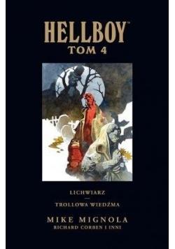Hellboy. Lichwiarz T.4 Trollowa wiedźma