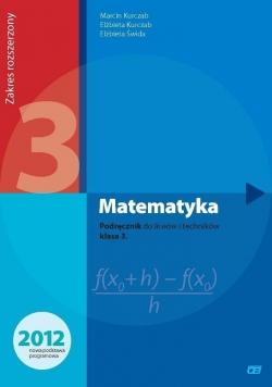 Matematyka LO 3 podr. ZR NPP w.2014 OE