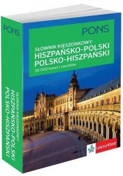 Kieszonkowy słownik polsko-hiszpański, hiszpań-pol