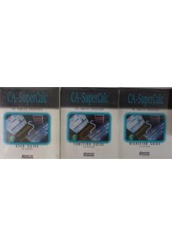 CA-SuperCalc for windows, 3 książki, nowe