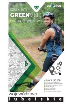 Green Velo mapa rowerowa Województwo Lubelskie