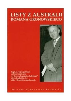Listy z Australii Romana Gronowskiego